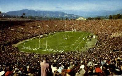 The Rose Bowl - Pasadena, California CA Postcard