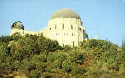 Griffith Obserbvatory - Hollywood, California CA Postcard