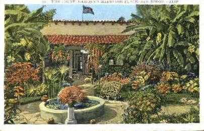 The Court, Ramonas Marriage Place - San Diego, California CA Postcard