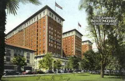 Biltmore - Los Angeles, California CA Postcard