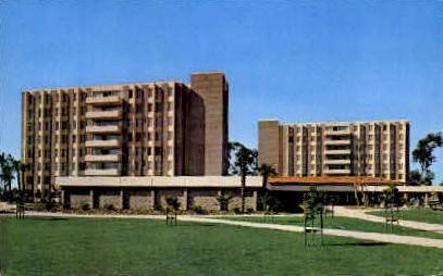San Miguel Hall - Santa Barbara, California CA Postcard