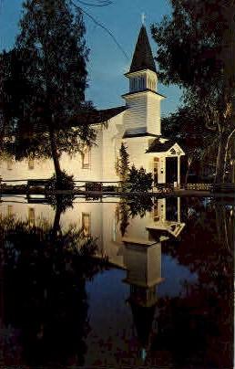 The Church of Reflections  - Buena Park, California CA Postcard