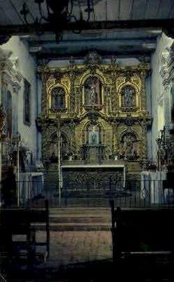 17th Century Altar, San Juan Capistrano - MIsc, California CA Postcard