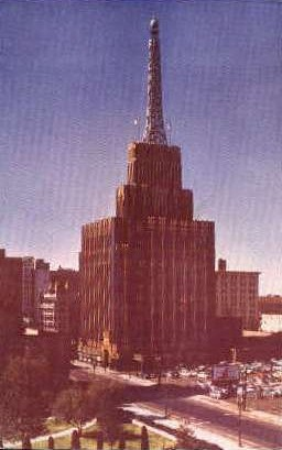 Richfield Oil Buildings - Los Angeles, California CA Postcard