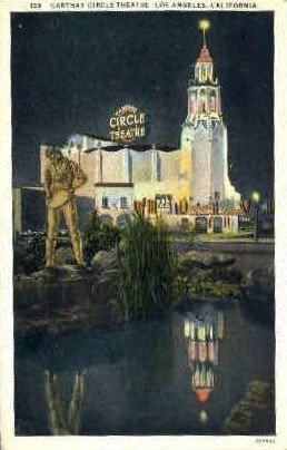 Carthay Circle Theatre - Los Angeles, California CA Postcard