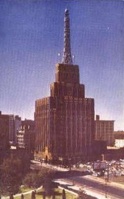 Richfield Oil Building - Los Angeles, California CA Postcard