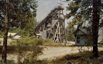 The Old Empire Mine - Grass Valley, California CA Postcard