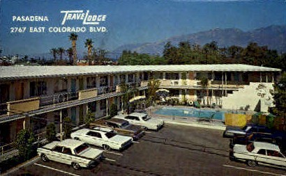 Travelodge - Pasadena, California CA Postcard