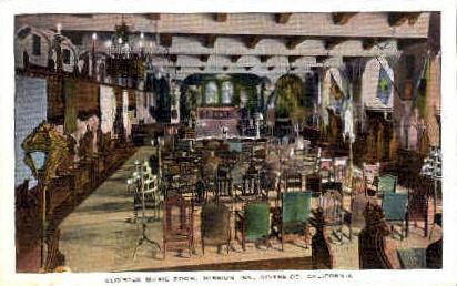 Cloister Music Room, Mission Inn - Riverside, California CA Postcard