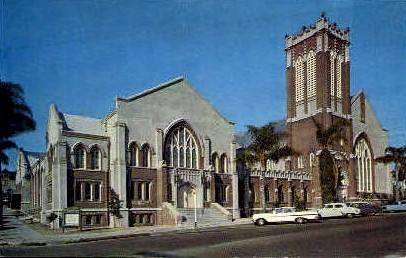 1st Presbyterian Church - San Diego, California CA Postcard