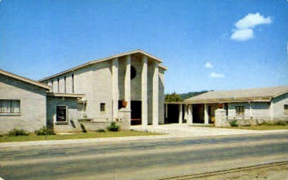 1st Methodist Church - Montgomery Village, California CA Postcard