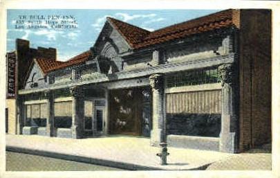 Ye Bull Pen Inn - Los Angeles, California CA Postcard