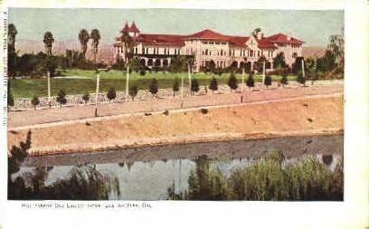 Hollenbeck Old Ladies Home - Los Angeles, California CA Postcard