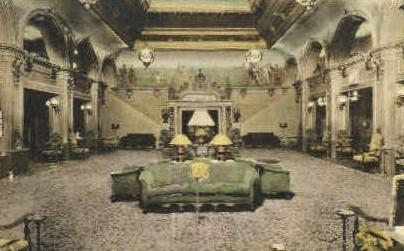 The Lobby, Hotel Barbara Worth - El Centro, California CA Postcard