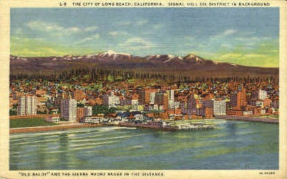 The City of Long Beach - California CA Postcard