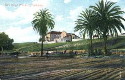San Diego Mission - California CA Postcard