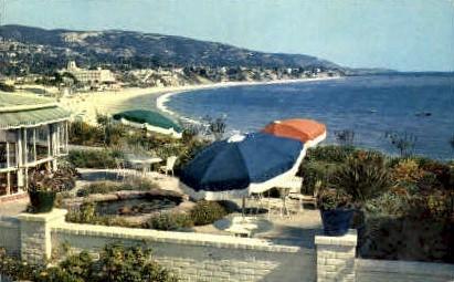 The Victor Hugo Inn - Long Beach, California CA Postcard