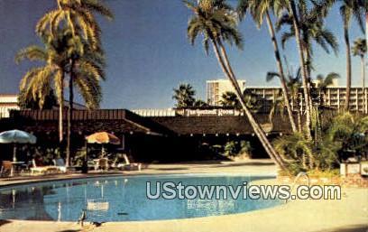 Town & Country Hotel - San Diego, California CA Postcard