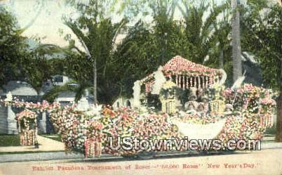 Exhibit Pasadena Tournament of Roses - California CA Postcard
