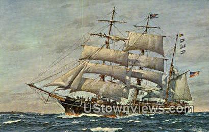 Star of India, Museum Ship - San Diego, California CA Postcard