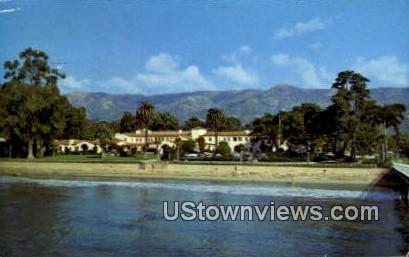 Santa Barbara Biltmore - California CA Postcard