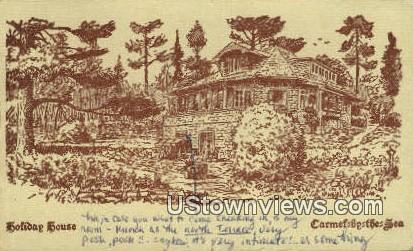 Holiday House - Carmel by the Sea, California CA Postcard