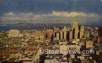 Knob Hill - San Francisco, California CA Postcard