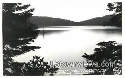 Bucks Lake Lodge, Real Photo - California CA Postcard