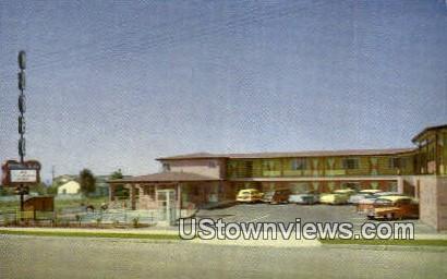 Mono Kai Motel - San Diego, California CA Postcard