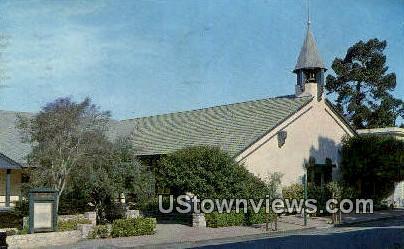 Church of the Wayferer - Carmel by the Sea, California CA Postcard