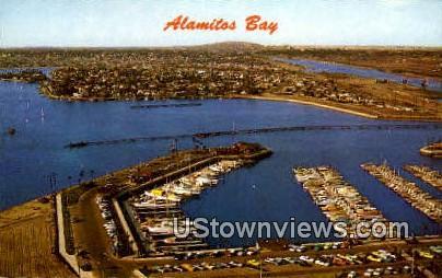 Alamitos Bay - California CA Postcard