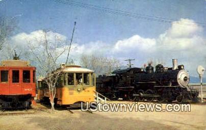 Traveltown, Griffith Park - Los Angeles, California CA Postcard