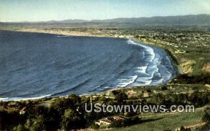 County West Coast Beach - Los Angeles, California CA Postcard