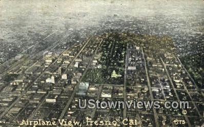 Fresno - California CA Postcard