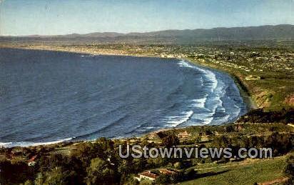 West Coast Beaches - Los Angeles, California CA Postcard