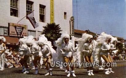 Barbarettes - Santa Barbara, California CA Postcard