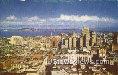 The Mark - San Francisco, California CA Postcard
