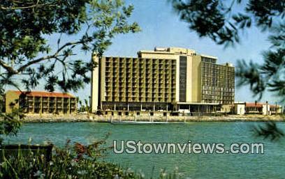 Sheraton Harbor Island Hotel - San Diego, California CA Postcard