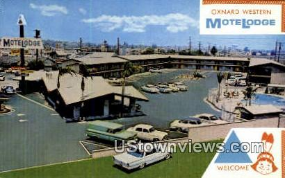 Oxnard Motelodge - California CA Postcard