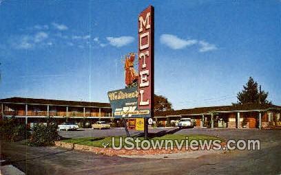 Western Motel - Monterey, California CA Postcard