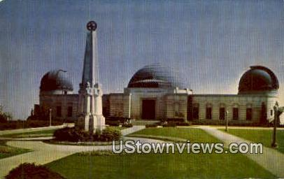Griffith Observatory - Los Angeles, California CA Postcard