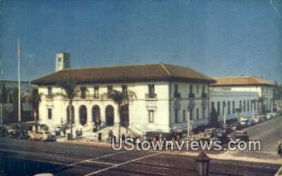 Pasadena Post Office - California CA Postcard