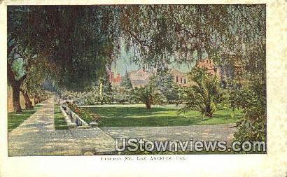 Figuroa St. - Los Angeles, California CA Postcard