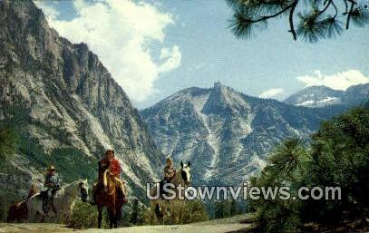 Mountain Wilderness - Kings Canyon National Park, California CA Postcard