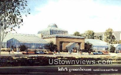 Lehr's Greenhouse restaurant & Florist - San Diego, California CA Postcard