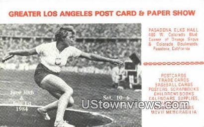 Pasadena Elks Hall - California CA Postcard