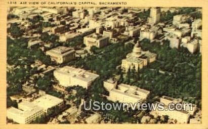 California's Capital - Sacramento Postcard