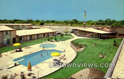 Caravan Inn - Sacramento, California CA Postcard
