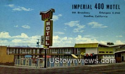 Imperial 400 Motel - Needles, California CA Postcard