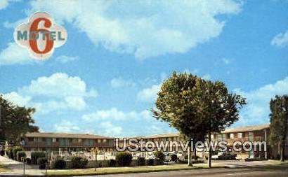 Motel 6 - Sacramento, California CA Postcard
